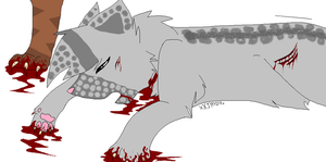 {I told you she was mine} Ashfur's second death by BrownkitBrownclaw