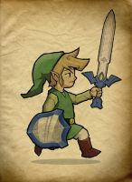 Link, The Hero of Winds by Paterack