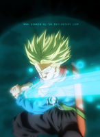 Trunks Genkidama Sword by SenniN-GL-54