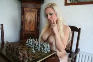 Chess with Michelle 3 by Singingnaturist
