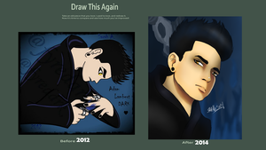 Before and After 2014 by SahGlam29