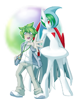 2 - Gallade by SkittyStrawberries