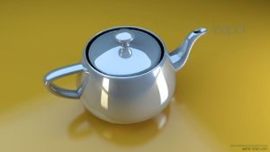 summer teapot by aash