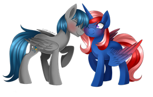 Perseus and Heart Container [Commission] by Scarlet-Spectrum