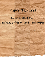 Paper Texture Pack 01 by LiZnReSources