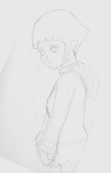 Hinata sketch by puffmonkie