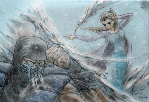 FROZEN KOMBAT! by Nick-Ian