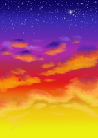 -Mini- Sunset by Nerdbutt