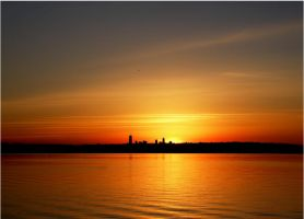 Seattle Sunset by andras120