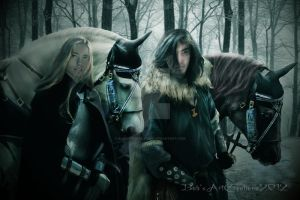 Warriors by babsartcreations