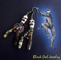 Dead Puppets earrings by IdolRebel