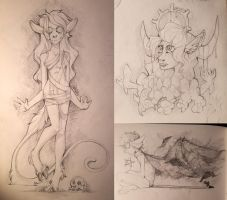 Sketches by 0ktavian