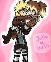 | Julia x Kris | by J0LIA