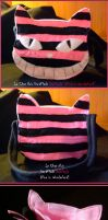 The Cheshire Cat Bag by LeChatNoirHandMade