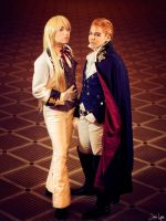 Zechs and Trieze Cosplay: Gundam Wing by SNTP
