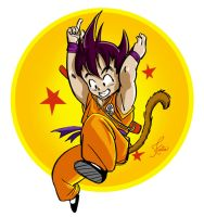 Dragon Ball Goku by shinakari