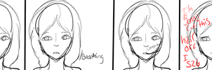 The Problem With Long Hair by beeutiiful