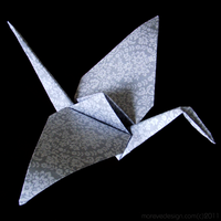 Flying Little Piece of Paper by Mareve-Design