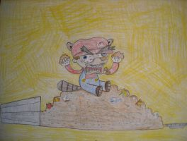 RACOON Mario, indeed by Deaniac