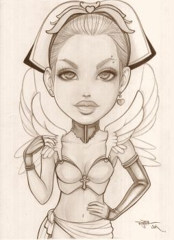 Angel of Trees-Sketches by carvalhooak