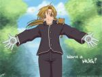 FMA - Movie.Aru - Want a HUG? by DejiNyucu