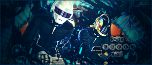 Daft Punk's by AcCreed