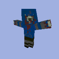L4D Hunter minecraft model by crazyevilgirl