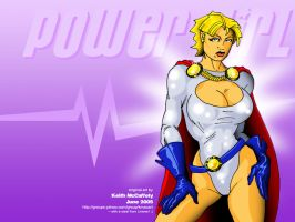 Power Girl No.2 by Thinkbolt