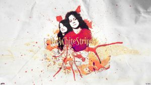 The White Stripes Wallpaper by 15Witex15