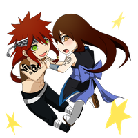 PC: Kaito and Aoi by DaemonB4