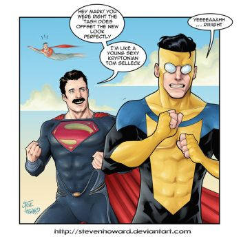 week 143 Man Of Steel by StevenHoward