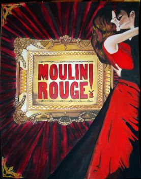 Moulin Rouge by Franchoiss