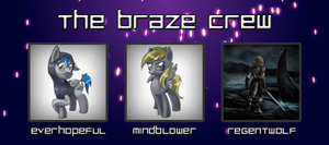 Braze Crew Banner (Animated) by Sunderbraze