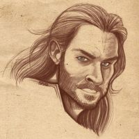 Thor Sketch by SAYOMADEIT