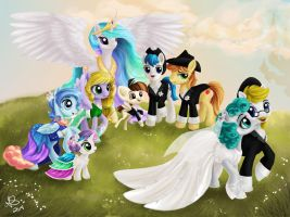Wedding Day! by PaintedHoofprints