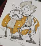 Rick and Morty Commission 2 by kaicastle