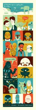 The Empire Strikes Back by Montygog