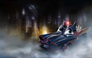 Cars | Batmobile by danyboz