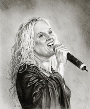 Liv Kristine Leaves Eyes by CBailey52