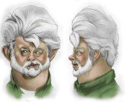 Caricature Style Sheet by JakeGreen