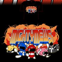Woot Shirt - Mighty Mews by fablefire