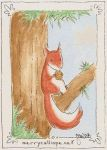 Red Squirrel by mymlansdotter