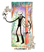 Slenderman by Pink-Myotis