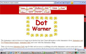 Dot Warner's Corner Web Set by TinyBunny