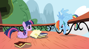 Crashed into the Library by Hourglass-Vectors