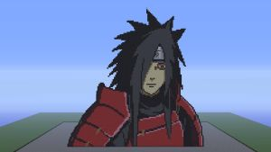 Madara Uchiha Minecraft Art (Day Version) by FelixGuaman