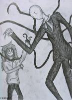 Jeff the Killer vs. Slenderman by Hekkoto