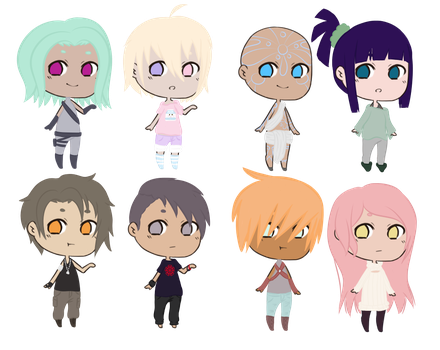 Chibi Adopt Batch (open ) by StarSheeps