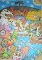 YOSHIS STORY by vanessness