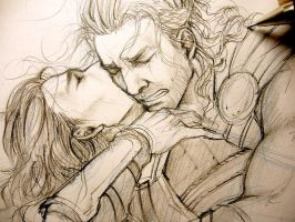 ThorKi - Sorry, I couldn't protect you - WIP by Lehanan